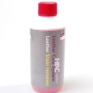 Læder pletfjerner stærk i 250 ml. flaske