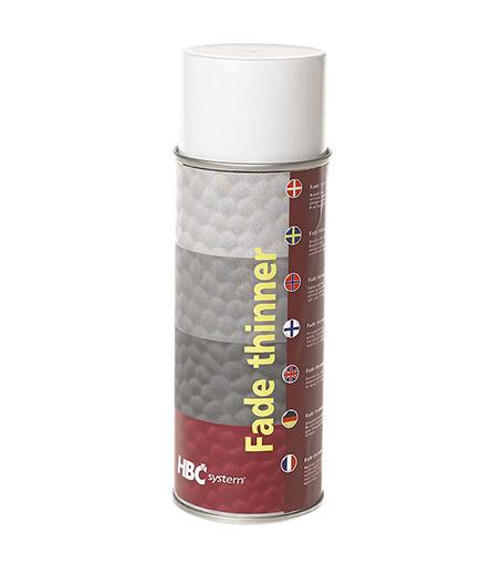Fade thinner på spraydåse