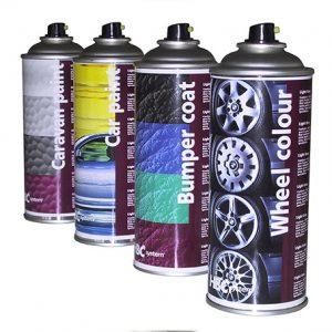 Fælge farve spray efter farvekode